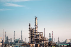 Chemicals plant Royalty Free Stock Photo