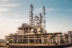Chemicals plant Stock Images