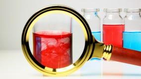 Chemiczna analiza pipeta Powiększać obiektyw zdjęcie wideo