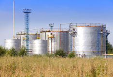 chemiczna fabryka Rosja Fotografia Stock