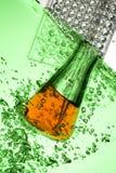 Chemiczna próbna tubka Obraz Stock