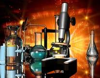 chemiczni przyrząda ilustracji