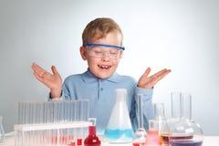 Chemiczny eksperyment zdjęcie stock