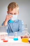 Chemiczny eksperyment obrazy royalty free