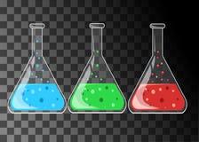 Chemiczny laboratorium badawczego wyposażenie dla naukowych experimen Zdjęcie Royalty Free