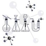 Chemiczny tło Zdjęcie Stock