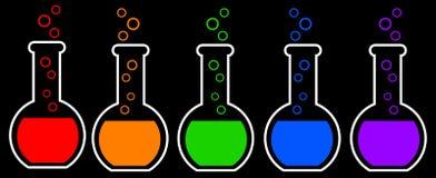 Chemie royalty-vrije illustratie