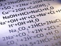 chemie Lizenzfreie Stockbilder