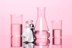 Chemie der Liebe lizenzfreies stockbild