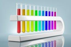Chemie in der Zukunft Lizenzfreies Stockfoto