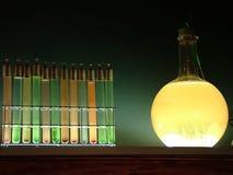 Chemie des Geschäfts Stockfotografie