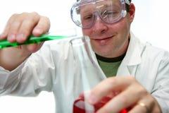 Chemie-Labor Stockbild