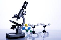 Chemie u. Biologie Stockbild