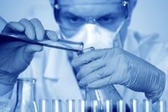 Chemie-Wissenschaftler Lizenzfreies Stockfoto