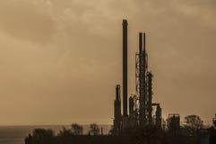 Chemiefabriek Stock Afbeeldingen