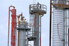 Chemiefabrik Lizenzfreies Stockfoto