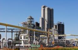 Chemiefabrik Lizenzfreies Stockbild