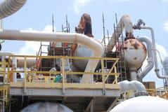 Chemiefabrik-Detail Stockbilder