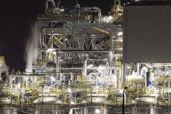 Chemiefabrik in Polen Lizenzfreies Stockfoto