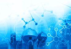 Chemielabor oder -forschung lizenzfreie stockfotos
