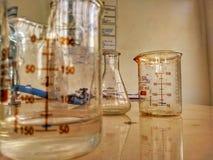 Chemielaboratorium royalty-vrije stock afbeelding