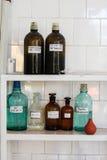 Chemielaborglasbehälter Lizenzfreie Stockbilder