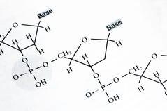 chemii formuły fotografia stock