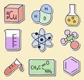 chemii ikon ilustraci majchery Obrazy Royalty Free