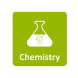 Chemii ikona dla sieci i wiszącej ozdoby Obrazy Royalty Free