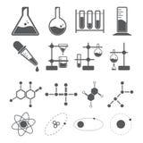 Chemii ikony pojęcie ilustracji