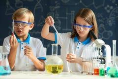 Chemii klasa Zdjęcia Royalty Free