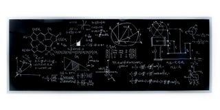 Chemii lab blackboard Zdjęcia Stock