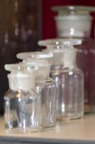 Chemii szkła naczynia Zdjęcie Stock