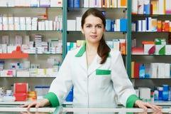 chemika apteki kobieta fotografia stock