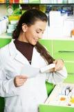 chemika apteki kobieta zdjęcie royalty free