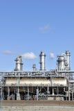 Chemikalie und Erdölraffinerie Stockfoto