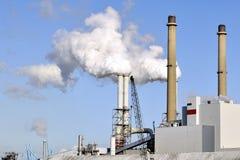 Chemikalie und Erdölraffinerie Lizenzfreies Stockfoto