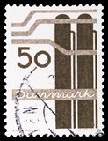 Chemikalien, d?nisches Industrien serie, circa 1968 lizenzfreie stockbilder
