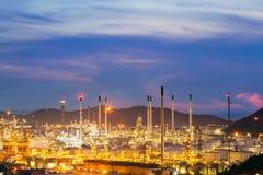 Chemikalien- und Schmierölfabrik Lizenzfreies Stockbild