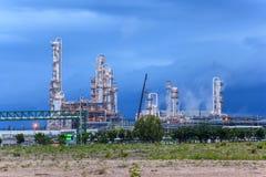 Chemikalien- und Schmierölfabrik Stockfotografie