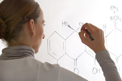 Chemiker stockfotografie