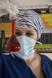 Chemiker bei der Arbeit Stockfoto