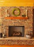 cheminée Image stock
