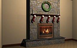 cheminée Photo stock