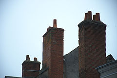cheminée Images stock