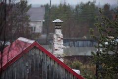 cheminée Photo libre de droits