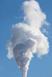 Cheminée d'évacuation des fumées Image stock