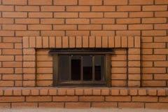 Cheminée de brique Photo stock