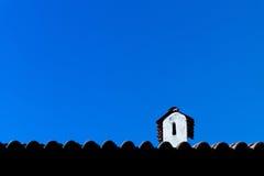 Cheminée de dessus de toit Image stock