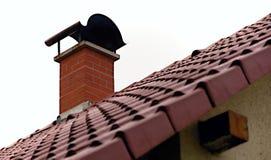 Cheminée de toit photographie stock libre de droits